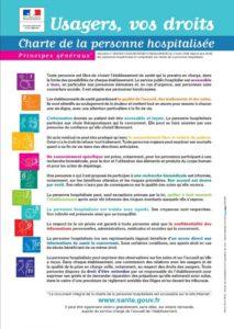 Charte de la personne hospitalisée (ministère de la santé)