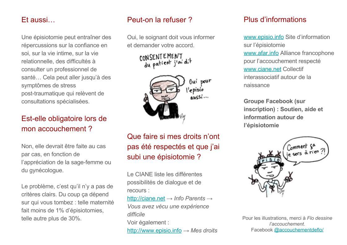 Flyer episio.info 2
